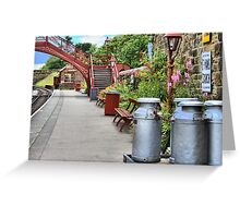 Goathland Station, Yorkshire Greeting Card