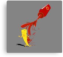 nightmares & ketchup Canvas Print