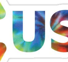 USY Tie Dye Sticker
