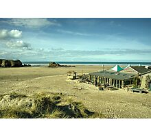 The pub on the beach  Photographic Print