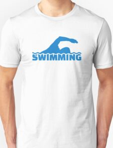 Swimming Unisex T-Shirt