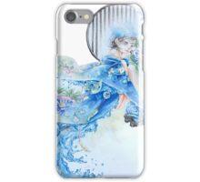 Haru in Blue iPhone Case/Skin