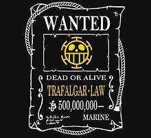 Wanted Trafalgar Law Unisex T-Shirt