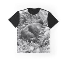"""Forty Winks"" - II (B&W) Graphic T-Shirt"