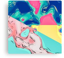 Abstract Artistic Colorful Dream World Canvas Print