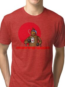 Good Morning Wood!!! Tri-blend T-Shirt