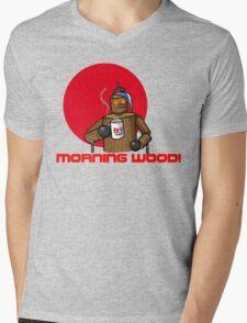 Good Morning Wood!!! Mens V-Neck T-Shirt