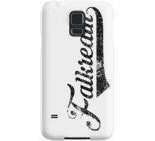 Skyrim Falkreath Distressed Sports Lettering Samsung Galaxy Case/Skin