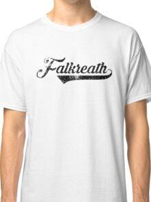 Skyrim Falkreath Distressed Sports Lettering Classic T-Shirt