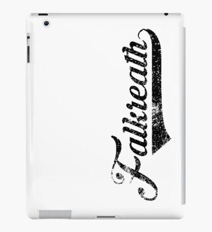 Skyrim Falkreath Distressed Sports Lettering iPad Case/Skin
