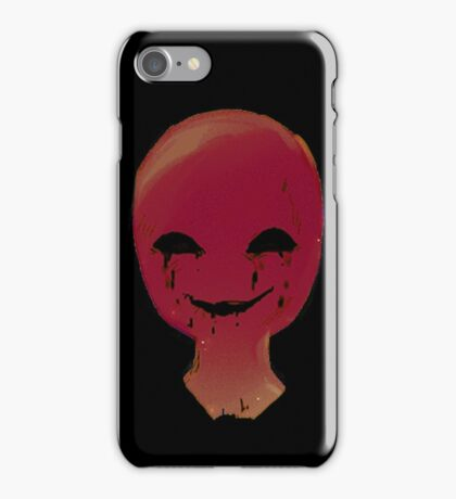 Smirk from the dark room iPhone Case/Skin