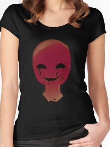 Smirk from the dark room Women's Fitted Scoop T-Shirt