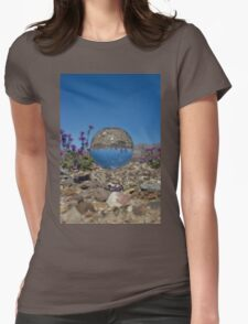 Strange Sighting in Death Valley Womens Fitted T-Shirt