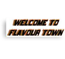 FLAVOUR TOWN Canvas Print