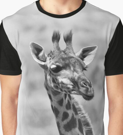 """""""Attentione"""" (B&W) Graphic T-Shirt"""
