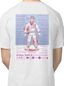 BJJ - Several Years In - Blue Classic T-Shirt