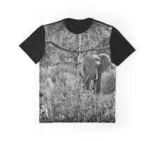 """""""Charge"""" (B&W) Graphic T-Shirt"""