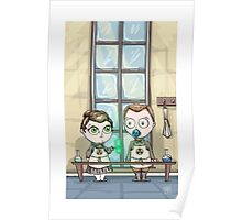 Curie - Lil' Scientists Series Poster