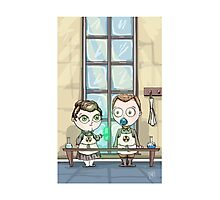 Curie - Lil' Scientists Series Photographic Print