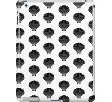 Seashells india ink modern minimal pattern print nautical kids nursery gender neutral shell iPad Case/Skin