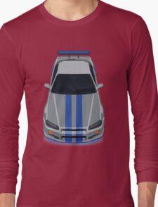 Fast and Furious Nissan Skyline GTR R34 Long Sleeve T-Shirt