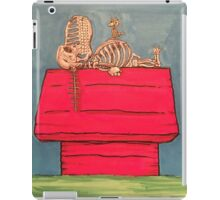 snoopy RIP iPad Case/Skin