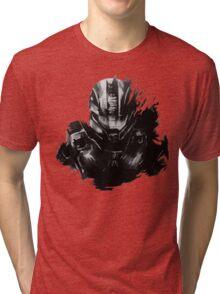 Master Chief Fragmented Tri-blend T-Shirt