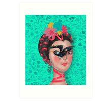 Frida Kahlo Art Print
