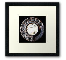 Telephone Nostalgia Framed Print