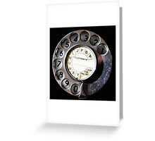 Telephone Nostalgia Greeting Card