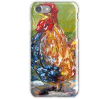 Amazed Rooster iPhone Case/Skin