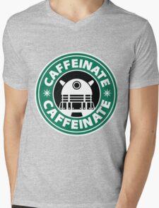 CAFFEINATE!!! Mens V-Neck T-Shirt