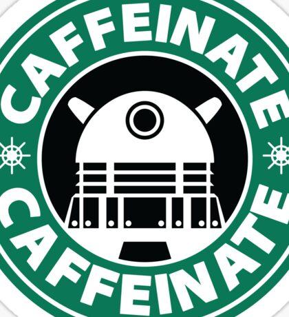 CAFFEINATE!!! Sticker
