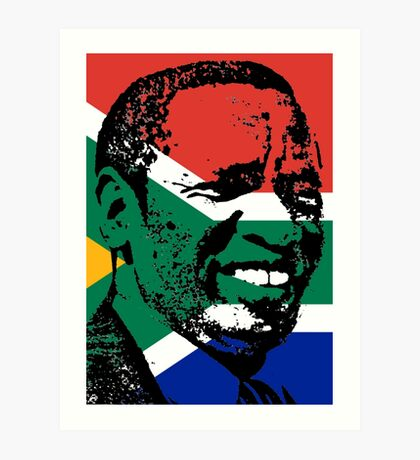 Griffiths Mxenge (Flag) Art Print