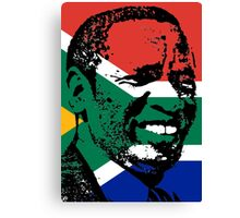 Griffiths Mxenge (Flag) Canvas Print