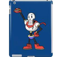 Undertale - Papyrus with spaghetti iPad Case/Skin