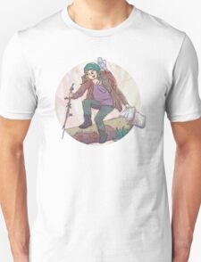 Portrait of a Traveler Unisex T-Shirt