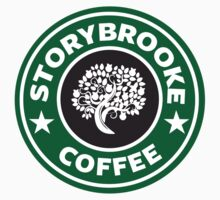 storybrooke coffee Kids Tee
