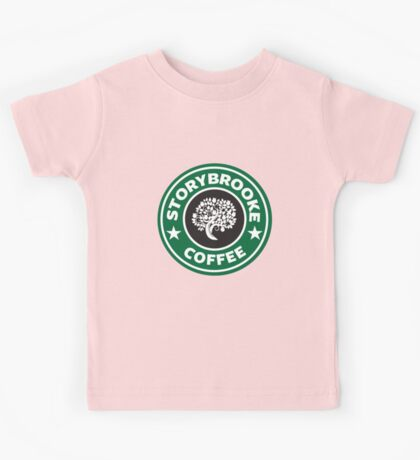 storybrooke coffee Kids Tee