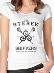 Teen Wolf Sterek Women's Fitted Scoop T-Shirt