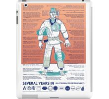 BJJ - Several Years In - Orange iPad Case/Skin