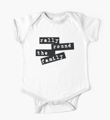 Rally Round the Family One Piece - Short Sleeve