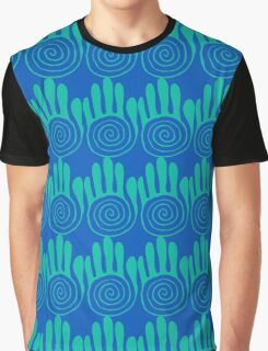 Native American Hand 5 Graphic T-Shirt
