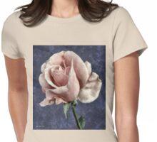 Silk Blush Womens Fitted T-Shirt