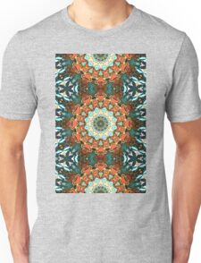 Concentric Abstract Symmetry Unisex T-Shirt