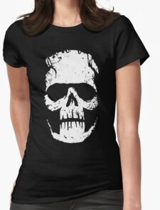 FrankenSkull Womens Fitted T-Shirt