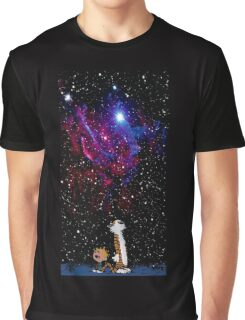 calvin and hobbes nebula  Graphic T-Shirt