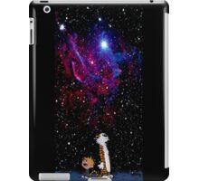 calvin and hobbes nebula  iPad Case/Skin