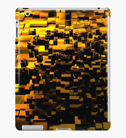 Golden Cubes iPad Case/Skin