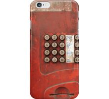 dirty communication iPhone Case/Skin